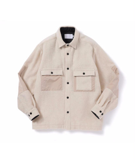 ANITYA/Mackinaw Shirt(White)