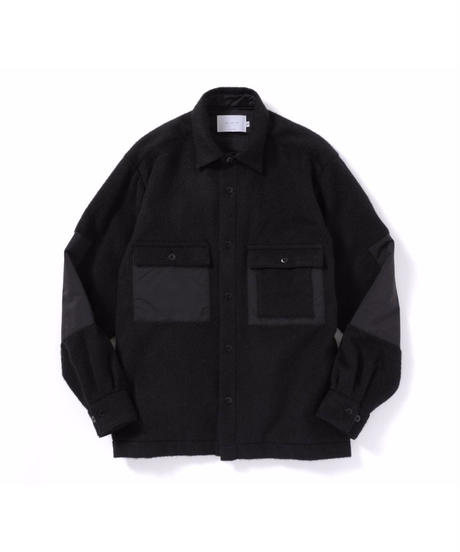 ANITYA/Mackinaw Shirt(Black)