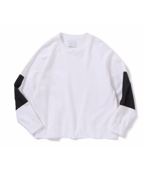 ANITYA/Y-neck pullover(white)