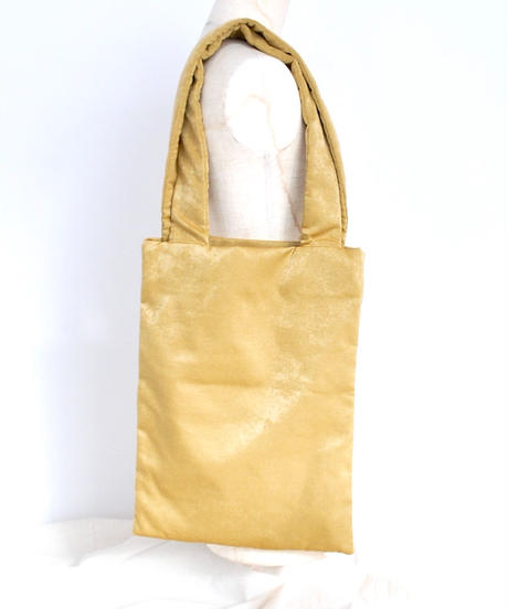 norouse/satijn tote bag(red/yellow/gray)