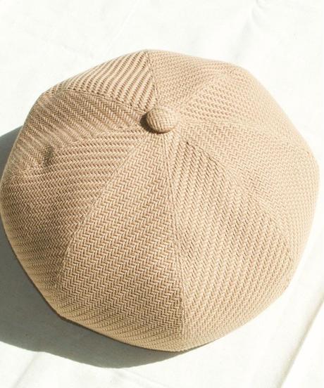 mitake/big beret(beige)