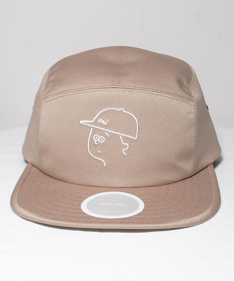 mitake/collaboration jet cap( beige/navy )