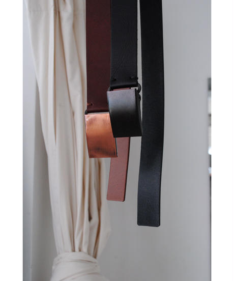 ASEEDONCLOUD ・Handwerker/leather belt(brown・black)