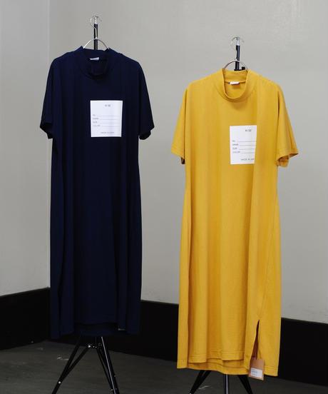 Hiroyuki Watanabe/Name one-piece(yellow/navy)