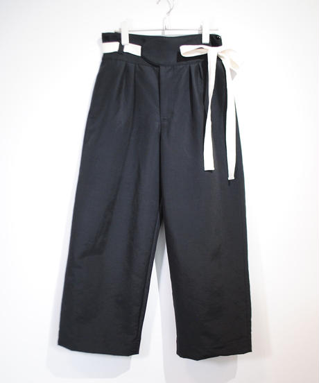 ANITYA/Gurkha pants(Black)