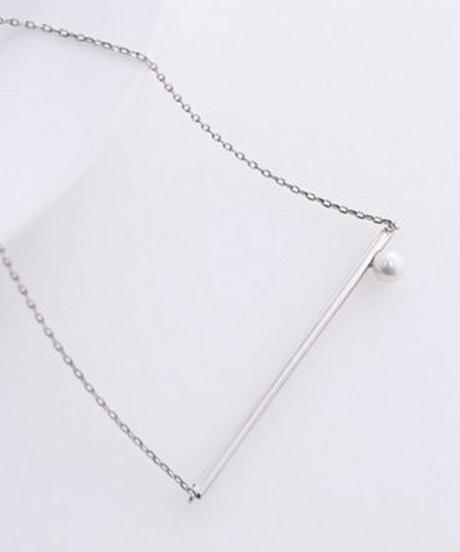 CODAMA select/line necklace(Pearl)