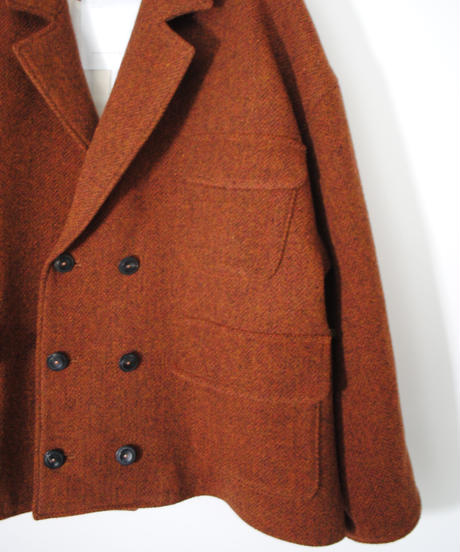 the last flower of the afternoon/深閑のshor hunting jacket(russet brown)