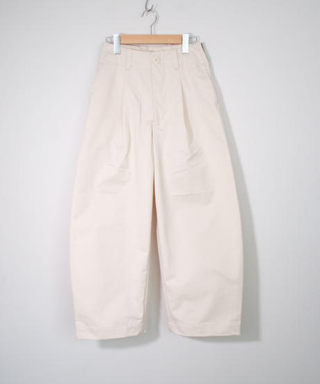 ASEEDONCLOUD  Handwerker/ wide trousers (備前壱号・white