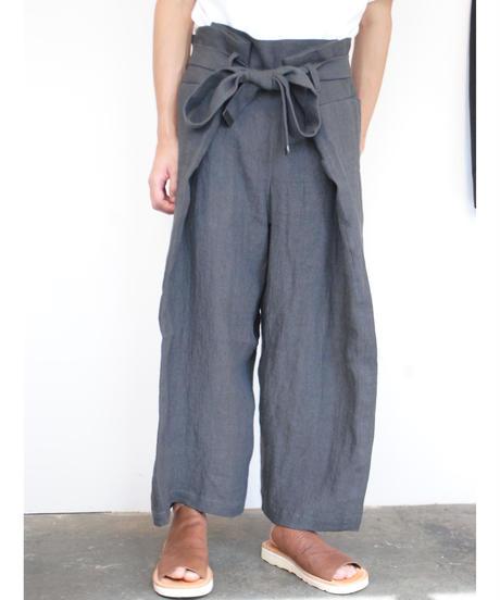 "rikolekt/""late summer""マキパンツ(gray)"