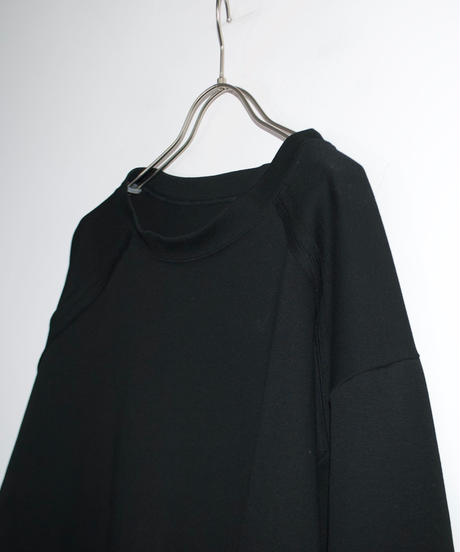 【time sale 6/25まで】ANITYA/Ope tee long sleeve(black)