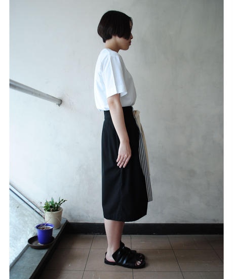 【time sale 6/25まで】ANITYA/wrap skirt(black)