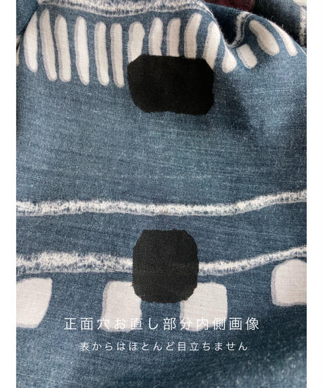 Mode retro over size black shirt-2138-8