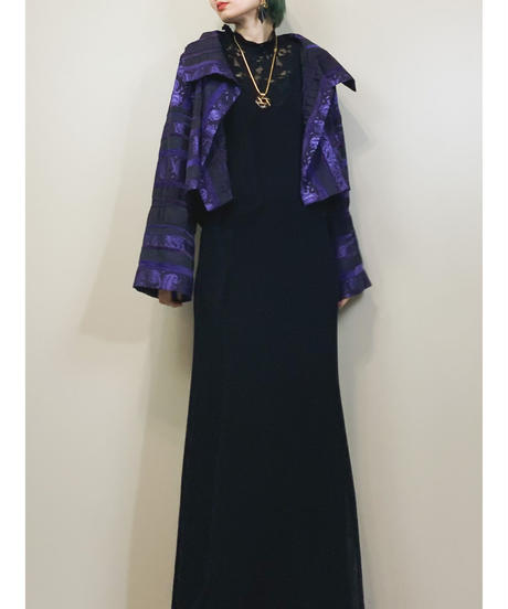 Parismail paisley pattern short jacket-1772-3