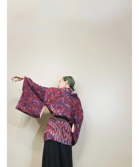 Made in Japan tie-dye antique haori-1783-3