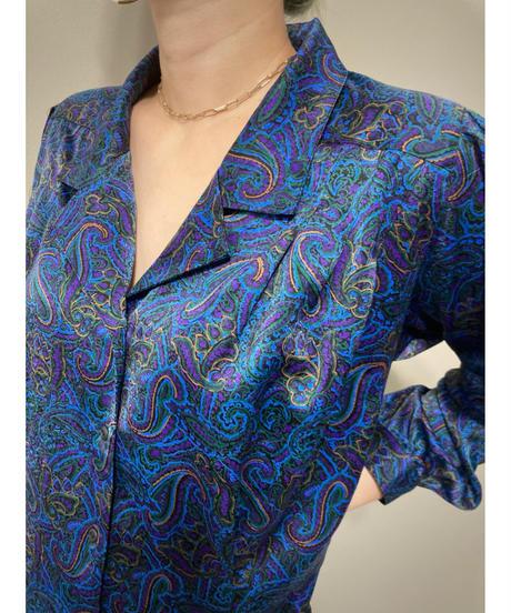 JOLIET Tokyo Blouse paisley design shirt-2057-7