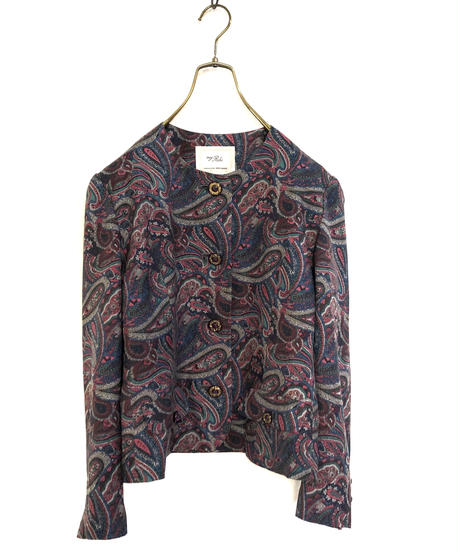 My Robe paisley silk jacket-674-11