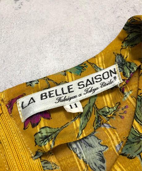 LA BELLE SAISON orange yellow  dress-1945-6