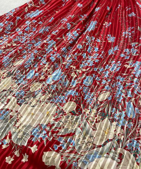 BONAARU china design pleats dress-1675-2