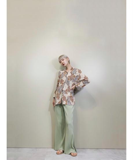 Hippie style paisley pattern shirt-1372-9