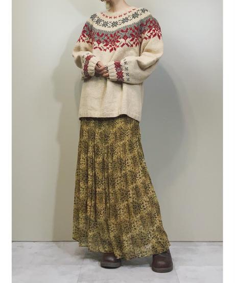 Snowflake  since1920 wool knit -701-11