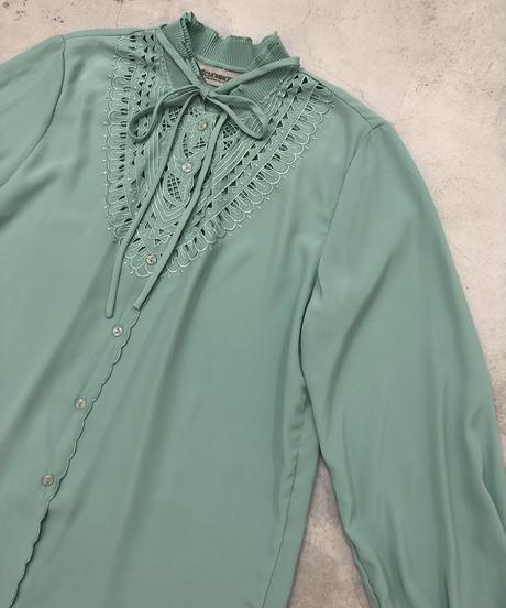 SCHONMORE mint green color shirt-1817-4