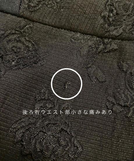Embossing black rose rétro set up-2063-7
