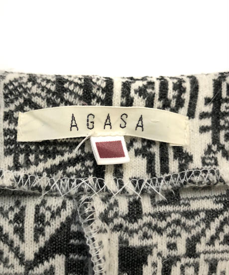 AGASA rétro wool jacket-810-1