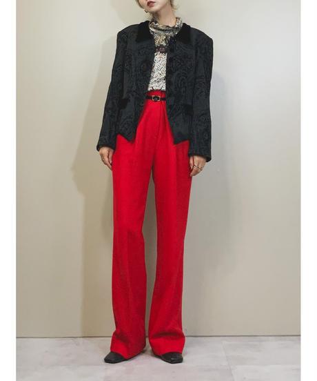ah PARIENNE velour collar jacket-1474-10