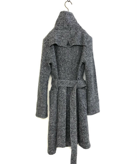 KATHARINE ROSS 2way collar wool coat-1521-11