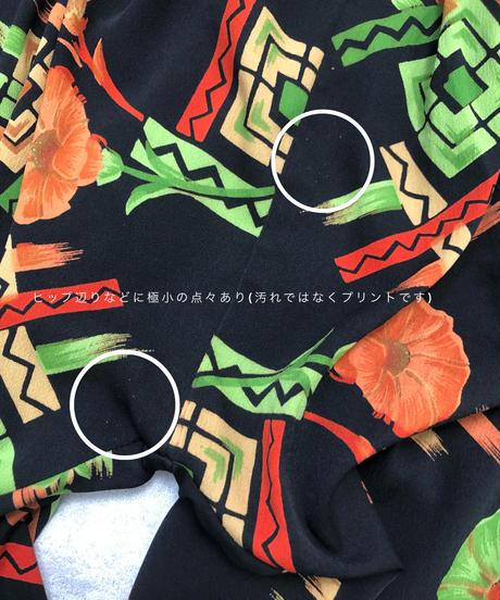 Botanical design  black  color shalwar-1948-6