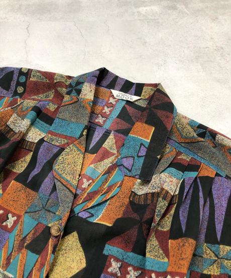 ELEGANCE DE MOOK over size shirt-1943-6