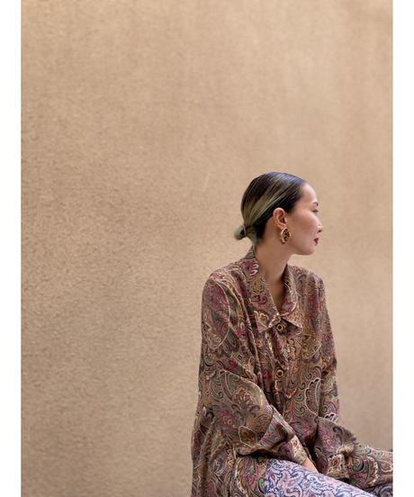 Elegance fashion  exotic long shirt-2170-9