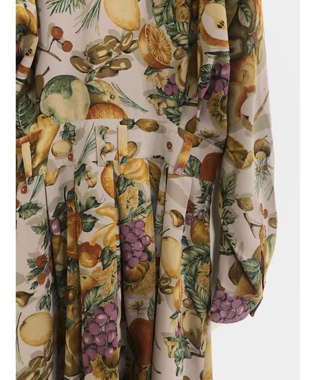 ville d'azur fruit flower pattern dress-1759-3