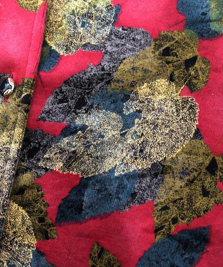 Arleguin leaf pattern tops-695-11
