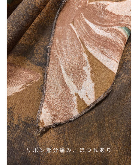 Mg APPAREL MADE IN U.S.A brown dress-1312-8