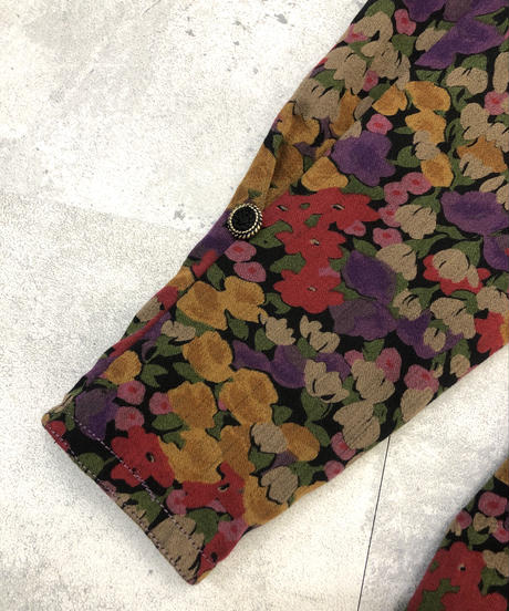 hi-fashion dull color rétro jacket-1417-9