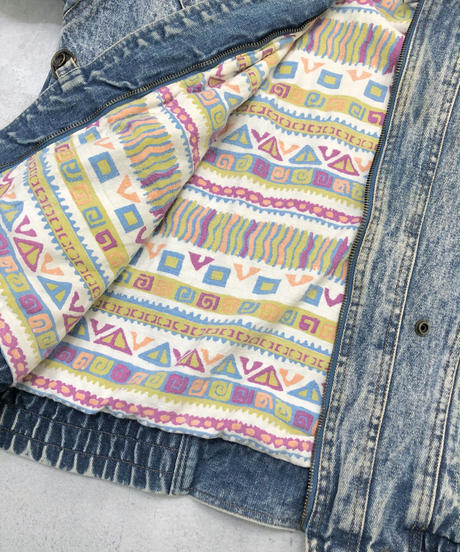 WEATHERED Blues vintage denim jacket-1677-2