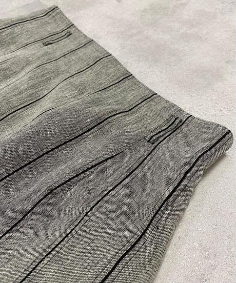 ALISTASIA chic stripe gray color set up-2146-9
