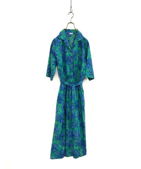 grupe CO.LTD. flower design cotoon dress-1856-4