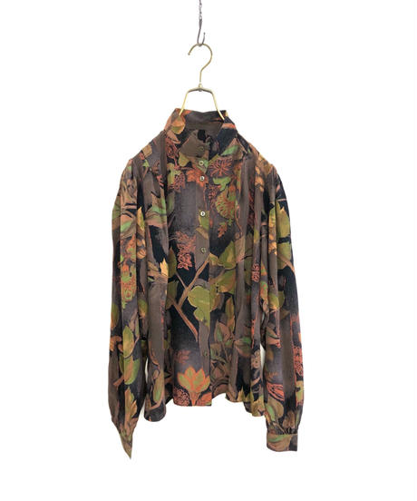 St michael MADE IN GERMANY leaf shirt-1710-2