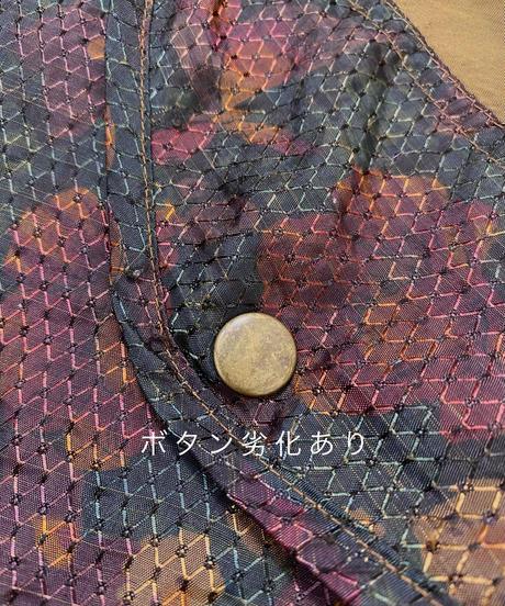 LADY LAVON vintage color nylon  jacket-2215
