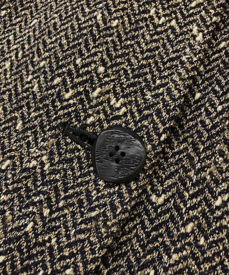 OF KRIZIA 2way herringbone jacket-1407-9