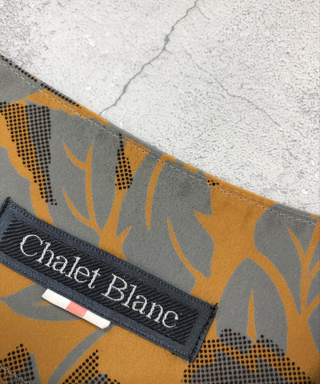 Chalet Blanc leaf mustard yellow tops-1159-5