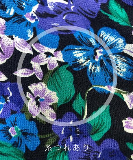 S.ROBERTS blue purple flower dress-1306-8
