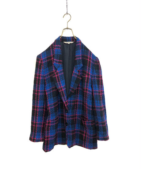 Iasserre wool100% plaid tailored  jacket-1665-2