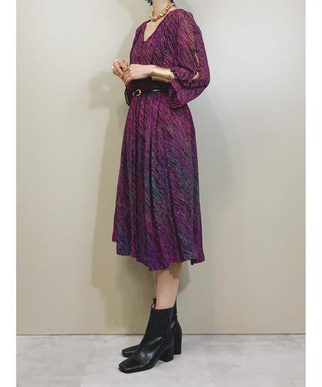 MAKER JASUMAN v neck cut dress-1944-6
