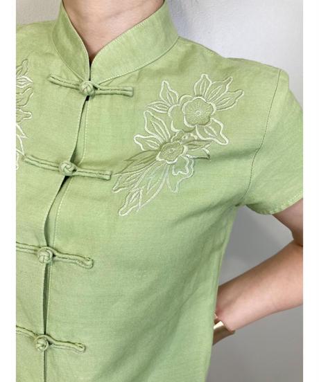 My Misu lime color china tops-1869-5