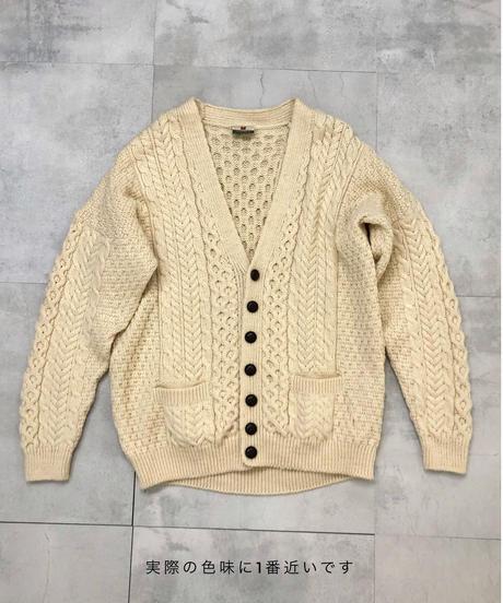CaRRaigdonn Made in Ireland pure new wool 100% knit cardigan-1515-11