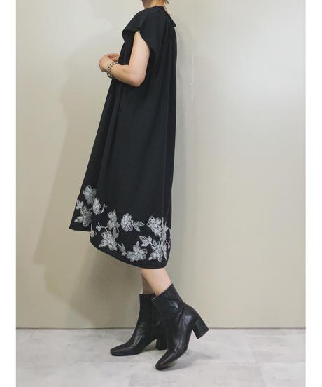 D.LOFT embroidery short length dress-1343-8