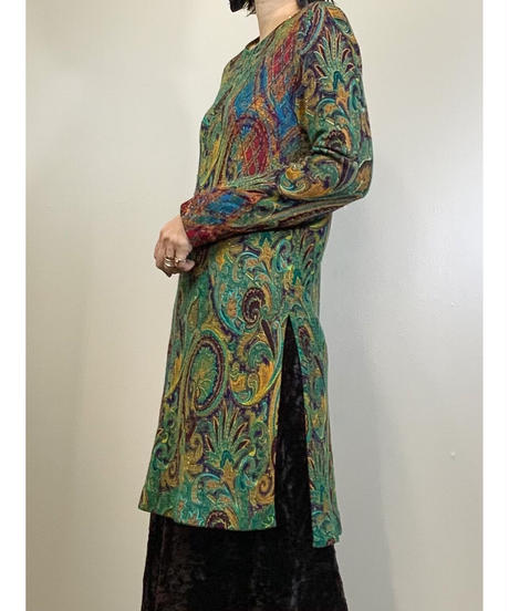 CASTLEBERRY NEW YORK exotic wool tunic-1668-2